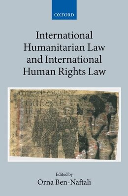 Book International Human Rights and Humanitarian Law by Orna Ben-Naftali