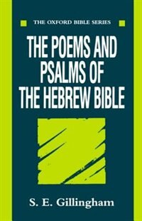 Book The Poems and Psalms of the Hebrew Bible by S. E. Gillingham