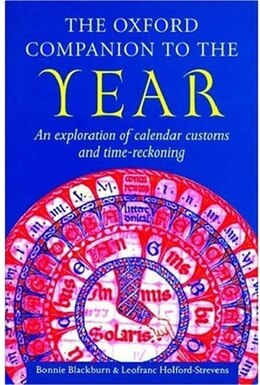 Book The Oxford Companion to the Year by Bonnie Blackburn