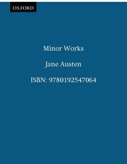 Book Minor Works by Jane Austen