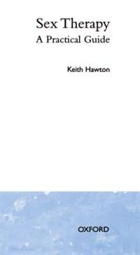 Book Sex Therapy: A Practical Guide by Keith Hawton
