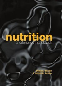 Book Nutrition: A Reference Handbook by David A. Bender