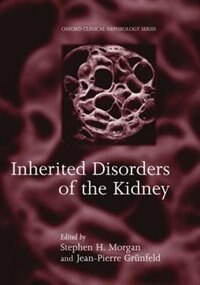 Book Inherited Disorders of the Kidney: Investigation and Management by Steven H. Morgan