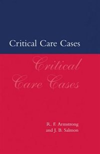 Book Critical Care Cases by R. F. Armstrong