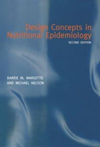 Book Design Concepts in Nutritional Epidemiology by Barrie M. Margetts