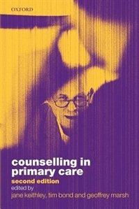 Book Counselling in Primary Care by Jane Keithley