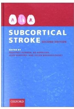 Book Subcortical Stroke by Geoffrey Donnan