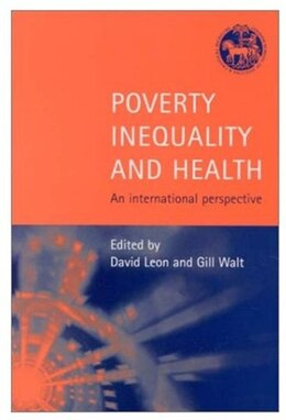 Book Poverty, Inequality and Health: An International Perspective by David Leon