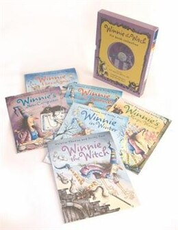 Book Winnie the Witch Six Book and Two CD Collection by Valerie Thomas