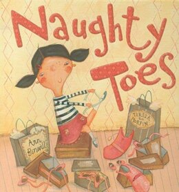Book Naughty Toes by Ann Bonwill