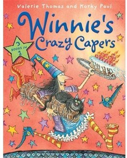 Book Winnies Crazy Capers by Valerie Thomas