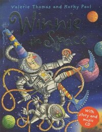 Winnie in Space Book and CD Pack