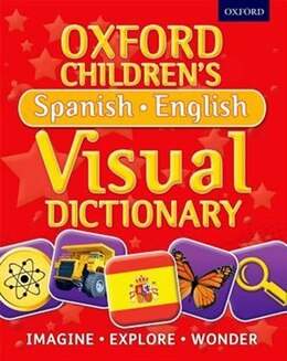 Book Oxford Childrens Spanish-English Visual Dictionary by Oxford Dictionaries