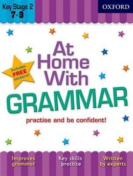 Book At Home with Grammar (7-9) by Sarah Lindsay