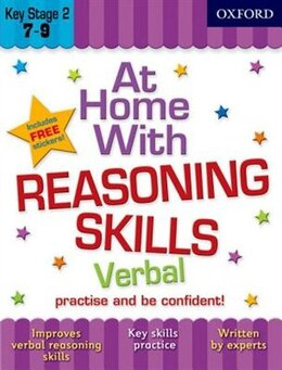 Book At Home with Verbal Reasoning Skills (7-9) by Alison Primrose