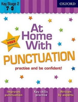 Book At Home with Punctuation (7-9) by Sarah Lindsay