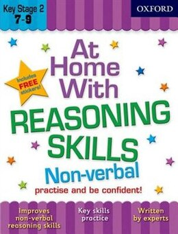 Book At Home with Non-Verbal Reasoning Skills (7-9) by Alison Primrose