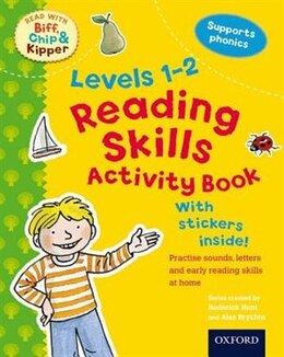 Book Oxford Reading Tree Read With Biff, Chip, and Kipper: Reading Skills Activity Book (Level 1-2) by Roderick Hunt