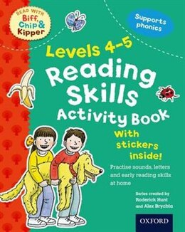 Book Oxford Reading Tree Read With Biff, Chip, and Kipper: Levels 4-5 Reading Skills Activity Book by Roderick Hunt