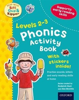Book Oxford Reading Tree Read With Biff, Chip, and Kipper: Phonics Activity Book (Levels 2-3) by Roderick Hunt