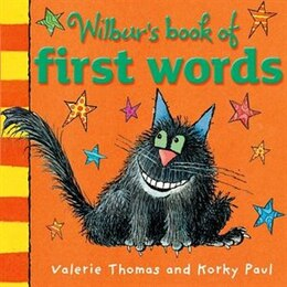 Book Wilburs First Words Board Book by Valerie Thomas