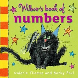 Book Wilburs Book of Numbers Board Book by Valerie Thomas
