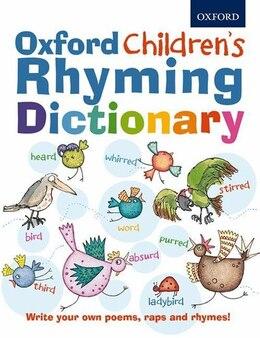 Book Oxford Childrens Rhyming Dictionary by Oxford