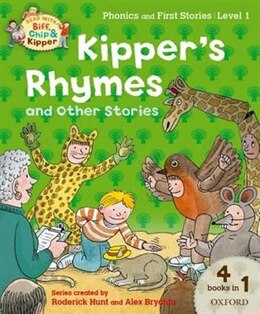 Book Oxford Reading Tree Read with Biff, Chip and Kipper: Level 1 Phonics and First Stories Kippers… by Roderick Hunt