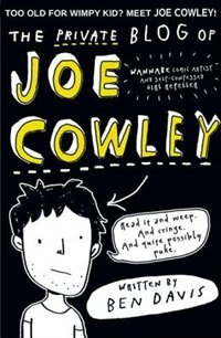 Book The Private Blog of Joe Cowley by Ben Davis
