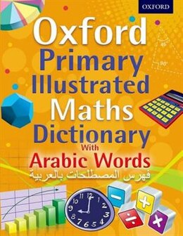 Book Oxford Primary Illustrated Maths Dictionary with Arabic Words by Peter Patilla