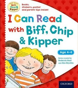 Book Oxford Reading Tree Read with Biff, Chip and Kipper: I Can Read with Biff, Chip and Kipper Pack by Roderick Hunt
