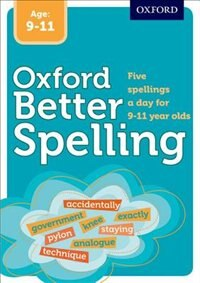 Book Better Spelling Age: 9-11 by Oxford