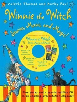 Book Winnie the Witch: Stories, Music, and Magic! (5 books with CD) by Valerie Thomas