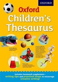 Book Oxford Childrens Thesaurus by Oxford