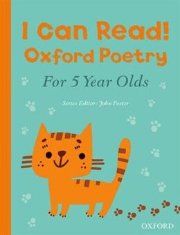 Book I Can Read! Oxford Poetry for 5 Year Olds by John Foster