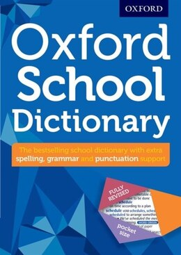 Book Oxford School Dictionary by Oxford Dictionaries