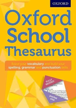 Book Oxford School Thesaurus by Oxford