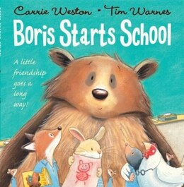 Book Boris Starts School by Carrie Weston