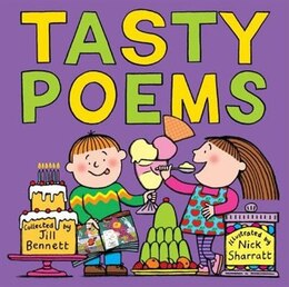 Book Tasty Poems: New Cover 2006 by Jill Bennett