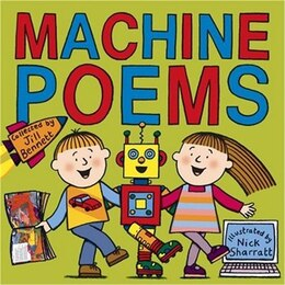 Book Machine Poems by Jill Bennett