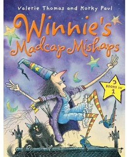 Book Winnies Madcap Mishaps by Valerie Thomas