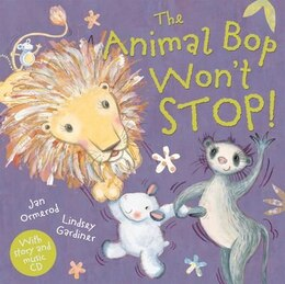 Book The Animal Bop Wont Stop Paperback + CD by Jan Ormerod