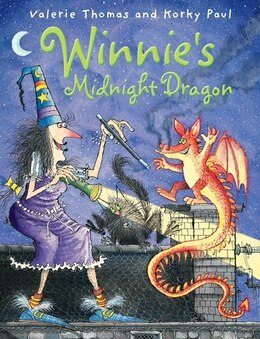 Book Winnies Midnight Dragon by Valerie Thomas