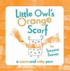 Little Owls Orange Scarf