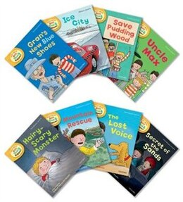 Book Oxford Reading Tree Read With Biff, Chip, and Kipper: Level 6 Pack of 8 by Roderick Hunt