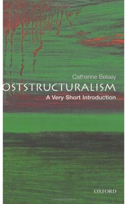 Book Poststructuralism: A Very Short Introduction by Catherine Belsey