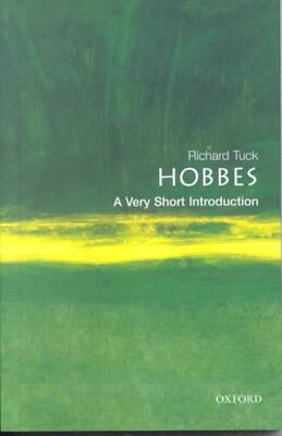 Book Hobbes: A Very Short Introduction: A Very Short Introduction by Richard Tuck