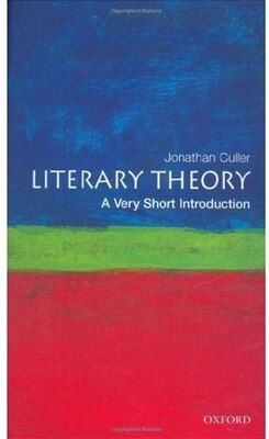Book Literary Theory: A Very Short Introduction by Jonathan Culler