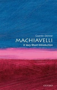Book Machiavelli: A Very Short Introduction: A Very Short Introduction by Quentin Skinner