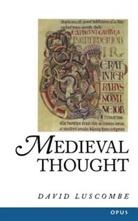 Book Medieval Thought by David Luscombe